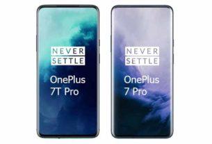 Compare OnePlus 7T Pro vs OnePlus 7 Pro