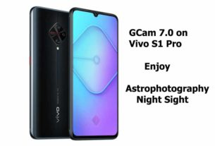 GCam 7.0 APK Vivo S1 Pro