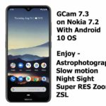 GCam 7.3 APK on Nokia 7.2