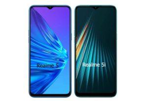 Realme 5i vs Realme 5 Comparison