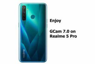 GCam 7.0 APK for Realme 5 pro