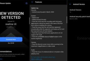 Realme 6 Pro latest update
