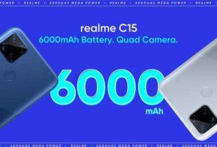 Realme C15 launch