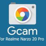 Latest GCam APK on Realme Narzo 20 Pro