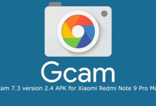 latest GCam 7.3 APK on Xiaomi Redmi Note 9 Pro Max