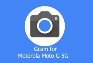 GCam APK for Motorola Moto G 5G