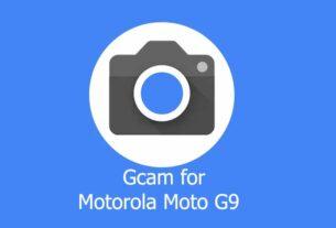 GCam APK for Motorola Moto G9