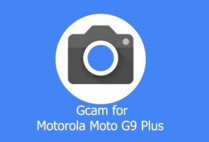 GCam APK for Motorola Moto G9 Plus