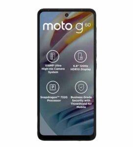 Motorola Moto G60 FAQs